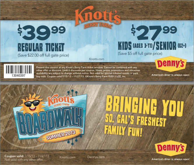Where can i get knotts berry farm coupons